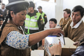 BOLIVIA-ELECTIONS-VOTING